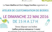 Atelier customisation chez Happy Families pour la participation au Silent Sunday 18
