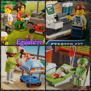 Playmobil VS Lego - Silent sunday 53 - stéréotypes